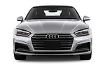 Car photography straight front view of a 2018 Audi A5  Premium 2 Door Coupe