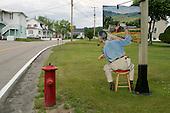 June 22, 2004<br /> St Irénée, Canada<br /> <br /> An artist display.