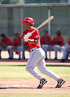 Angel Castillo / Los Angeles Angels 2008 Instructional League..Photo by:  Bill Mitchell/Four Seam Images