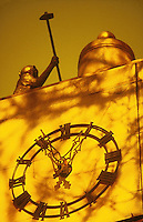 Delacourt clock detail<br />