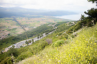 peloton approaching<br /> <br /> Tour of Turkey 2014<br /> stage 5
