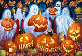 Randy, CUTE ANIMALS, LUSTIGE TIERE, ANIMALITOS DIVERTIDOS, halloween, paintings+++++,USRW349,#ac#, EVERYDAY ,pumpkins, ,ghost,ghosts