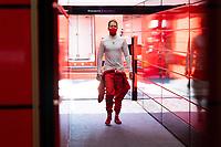 4th September 2020; Autodromo Nazionale Monza, Monza, Italy ; Formula 1 Grand Prix of Italy, free practise sessions;  5 Sebastian Vettel GER, Scuderia Ferrari Mission Winnow leaves the Ferrari garage