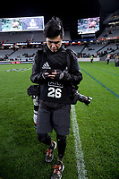 Photographer Anthony Au-Yeung after the Bledisloe Cup rugby match between the New Zealand All Blacks and Australia Wallabies at Eden Park in Auckland, New Zealand on Saturday, 7 August 2021. Photo: Dave Lintott / lintottphoto.co.nz