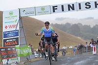 Kees Duyvesteyn (New Zealand/Team BridgeLane) finishes second in stage four of the NZ Cycle Classic UCI Oceania Tour (Te Wharau-Admiral Hill Queen Stage) in Wairarapa, New Zealand on Saturday, 18 January 2020. Photo: Dave Lintott / lintottphoto.co.nz