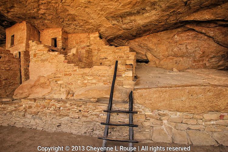 Balcony House Ladder - Colorado - Mesa Verde National Park