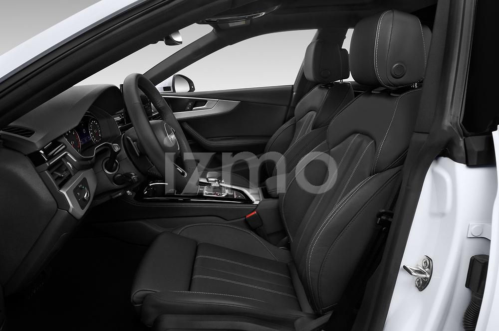 Front seat view of 2021 Audi A5-Sportback Design 5 Door Hatchback Front Seat  car photos