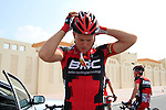 Thor Hushovd (NOR) BMC Racing Team before the start of the 1st Stage of the 2012 Tour of Qatar running from Umm Slal Mohammed to Doha Golf Club, Doha, Qatar, 5th February 2012 (Photo Eoin Clarke/Newsfile)