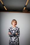 NIEW YORK  - AUGUST 2, 2011:  Carol Smith, vice president, publisher, and chief revenue officer of Harper's Bazaar, poses for a portrait in Harper Bazaar's closet on August 02, 2011 in New York City.  Smith is the former publisher of Elle magazine.  (Photo by Michael Nagle)