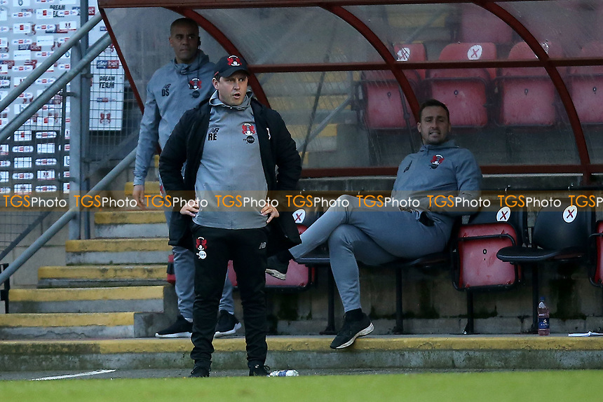 Leyton Orient manager Ross Embleton during Leyton Orient vs Harrogate Town, Sky Bet EFL League 2 Football at The Breyer Group Stadium on 21st November 2020