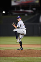 ***Temporary Unedited Reference File***Northwest Arkansas Naturals relief pitcher Kevin McCarthy (29) during a game against the Springfield Cardinals on April 26, 2016 at Hammons Field in Springfield, Missouri.  Northwest Arkansas defeated Springfield 5-2.  (Mike Janes/Four Seam Images)