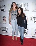 Kelly Brook and Rebecca Corry attends The 4th Annual Stand Up for Pits event at the Hollywood Improv in West Hollywood, California on November 02,2014                                                                               © 2014 Hollywood Press Agency