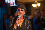 Gary Fisher speaks to a crowd at the Firkin & Fox during the Epic Rides' Inaugural Carson City Off-Road event on Saturday, June 18, 2016 in Carson City, Nev.<br /> Photo by Kevin Clifford/Nevada Photo Source