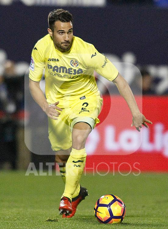 Villarreal CF's Mario Gaspar during La Liga match. December 3,2016. (ALTERPHOTOS/Acero)