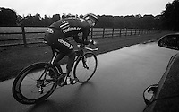 Dean Downing (GBR) passing by at recon<br /> <br /> Tour of Britain<br /> stage 3: ITT Knowsley Safari Park (16.1km)