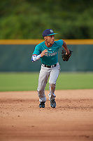 Brandon Mayberry (60), from Kansas City, Missouri, while playing for the Mariners during the Baseball Factory Pirate City Christmas Camp & Tournament on December 27, 2017 at Pirate City in Bradenton, Florida.  (Mike Janes/Four Seam Images)