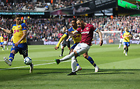 West Ham United's Marko Arnautovic<br /> <br /> Photographer Rob Newell/CameraSport<br /> <br /> The Premier League - West Ham United v Southampton - Saturday 4th May 2019 - London Stadium - London<br /> <br /> World Copyright © 2019 CameraSport. All rights reserved. 43 Linden Ave. Countesthorpe. Leicester. England. LE8 5PG - Tel: +44 (0) 116 277 4147 - admin@camerasport.com - www.camerasport.com