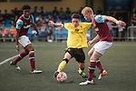 Aston Villa vs West Ham United during the Main tournament of the HKFC Citi Soccer Sevens on 22 May 2016 in the Hong Kong Footbal Club, Hong Kong, China. Photo by Lim Weixiang / Power Sport Images