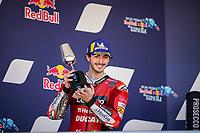 Pecco Bagnaia 2nd celebrate Ducati <br /> Jerez 03/05/2021 Spain MotoGP<br /> Photo Mediahouse.ducati.com / Insidefoto <br /> EDITORIAL USE ONLY