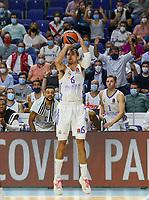 30th September 2021; Madrid, Spain:  Euroleague Basketball, Real Madrid versus Anadolu Efes Istanbul;  Alberto Abalde of team Real Madrid during the Matchday 1 between Real Madrid and Anadolu Efes Istanbul