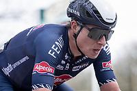 Jasper Philipsen (BEL/Alpecin-Fenix) up the infamous Kemmelberg<br /> <br /> 83rd Gent-Wevelgem - in Flanders Fields (ME - 1.UWT)<br /> 1 day race from Ieper to Wevelgem (BEL): 254km<br /> <br /> ©kramon