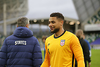 BELFAST, NORTHERN IRELAND - MARCH 28: Zack Steffen #1 of the United States after a game between Northern Ireland and USMNT at Windsor Park on March 28, 2021 in Belfast, Northern Ireland.