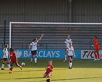 during Tottenham Hotspur Women vs Reading FC Women, Barclays FA Women's Super League Football at the Hive Stadium on 7th November 2020
