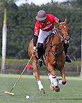 WELLINGTON, FL - FEBRUARY 12:  Wes Finlayson #2 of Coca Cola controls the ball down the field in the Ylvisaker Cup during Sunday's Feature Match vs Valiente II at the International Polo Club, Palm Beach on February 12, 2017 in Wellington, Florida. (Photo by Liz Lamont/Eclipse Sportswire/Getty Images)
