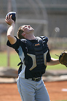 March 19th 2008:  Tyler Hauschild of the Tampa Bay Devil Rays minor league system during Spring Training at the Raymond A. Naimoli Complex in St. Petersburg, FL.  Photo by:  Mike Janes/Four Seam Images
