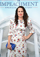 """WEST HOLLYWOOD - SEPT 1: Elizabeth Reaser attends a red carpet event for FX's """"Impeachment: American Crime Story"""" at Pacific Deisgn Center on September 1, 2021 in West Hollywood, California. (Photo by Frank Micelotta/FX/PictureGroup)"""