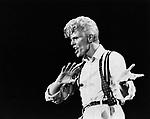 David Bowie 1983.© Chris Walter.