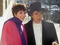 Liza Minnelli Dudley Moore<br /> Filming Arthur 1981<br /> Photo By John Barrett/PHOTOlink.net