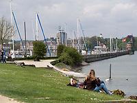 Beim Hafen von Konstanz, Baden-Württemberg, Deutschland, Europa<br /> port of Constance, Baden-Württemberg, Germany, Europe