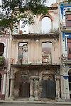 Shell Of Old Havana Building