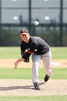 Jake Stevens, San Francisco Giants 2010 minor league spring training..Photo by:  Bill Mitchell/Four Seam Images.