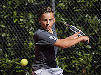 Hilversum, Netherlands, August 10, 2016, National Junior Championships, NJK, Quinn Groenendijk (NED)<br /> Photo: Tennisimages/Henk Koster