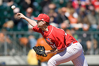 Nebraska Cornhusker pitcher Tom Lemke against Texas on Sunday March 21st, 2100 at UFCU Dish-Falk Field in Austin, Texas.  (Photo by Andrew Woolley / Four Seam Images)