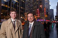 Lafayette College Alumnus Michael Winter of Merrill Lynch hosted Lafayette student Emmett Jusino in NYC in an externship.