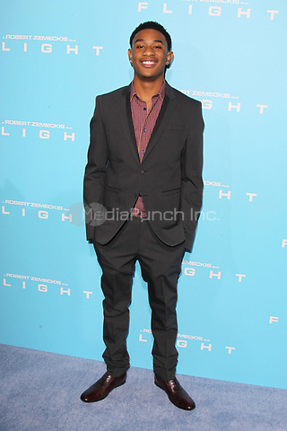 HOLLYWOOD, CA - OCTOBER 23: Justin Martin at the Los Angeles premiere of 'Flight' at ArcLight Cinemas on October 23, 2012 in Hollywood, California. © mpi21/MediaPunch Inc.