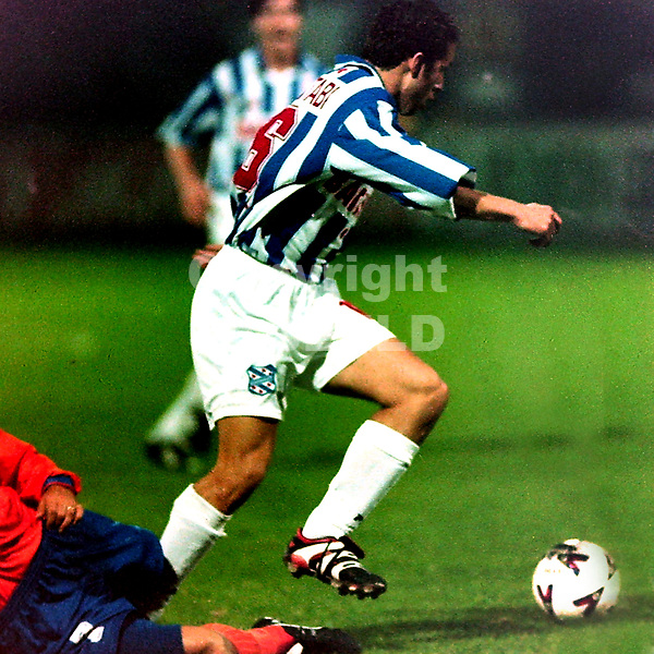 HEERENVEEN - Voetbal, SC Heerenveen - NK Varteks, Europacup, 22-10-1998, Ali El-Khattabi