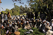 Jalalabad, Afghanistan <br /> November 18, 2001<br /> <br /> Local chiefs meet in Jalalabad to establish a new government in the region.