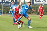 Niklas Antlitz (Nr.19, FC Astoria Walldorf) am Ball  beim Spiel, FC Astoria Walldorf - SC Freiburg II.<br /> <br /> Foto © PIX-Sportfotos *** Foto ist honorarpflichtig! *** Auf Anfrage in hoeherer Qualitaet/Aufloesung. Belegexemplar erbeten. Veroeffentlichung ausschliesslich fuer journalistisch-publizistische Zwecke. For editorial use only. DFL regulations prohibit any use of photographs as image sequences and/or quasi-video.