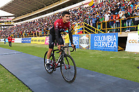 TUNJA - COLOMBIA, 11-02-2020: Richard Carapaz (ECU) del equipo TEAM INEOS durante la primera del Tour Colombia 2.1 2020 que se correrá en Boyacá, Colombia entre el 11 y 16 de febrero de 2020. / Richard Carapaz (ECU) of TEAM INEOS during the launch of Tour Colombia 2.1 2020 that that will run between February 11 and 16, 2020 in Boyacá, Colombia.  Photo: VizzorImage / Darlin Bejarano / Cont