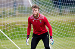 St Johnstone Training...  McDiarmid Park<br />Goalkeeper Zander Clark pictured during training ahead of Saturday's opening league game of the season at Ross County.<br />Picture by Graeme Hart.<br />Copyright Perthshire Picture Agency<br />Tel: 01738 623350  Mobile: 07990 594431