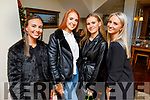 Emma Godley, Katherine Belyakov, Sive Griffin and Katie Doyle enjoying the evening in Bella Bia on Thursday.