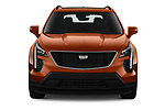 Car photography straight front view of a 2019 Cadillac XT4 Sport 5 Door SUV Front View
