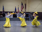 John Langmore workshop with the Basque and Hispanic Dancers at the Winnemucca Events center, Thursday at STW XXXI, Winnemucca, Nevada, April 12, 2019.<br /> .<br /> .<br /> .<br /> .<br /> @shootingthewest, @winnemuccanevada, #ShootingTheWest, @winnemuccaconventioncenter, #WinnemuccaNevada, #STWXXXI, #NevadaPhotographyExperience, #WCVA