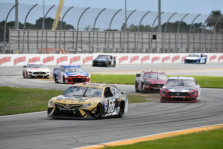#66: Timmy Hill, Motorsports Business Management, Toyota Camry RoofClaim.com, #2: Brad Keselowski, Team Penske, Ford Mustang Wabash