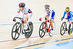 Yumi Kajihara of the Japan team competes in the Women's Omnium Scratch Race 1/4 as part of the 2017 UCI Track Cycling World Championships on 14 April 2017, in Hong Kong Velodrome, Hong Kong, China. Photo by Marcio Rodrigo Machado / Power Sport Images