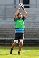 Friday 18th September 2020 | Ulster Rugby Training<br /> Iain Henderson taking part in an Ulster Rugby training session at Kingspan Stadium ahead of Ulster's Heineken Champions Cup Quarter-Final against Toulouse in France at the weekend.  Photo by John Dickson / Dicksondigital